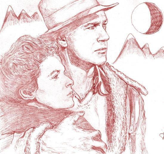 Gary Cooper, Ingrid Bergman par didgiv